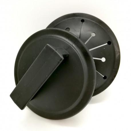 Kit de bonde couvercle + anti-refouleur pour broyeur