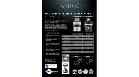 Collection pour professionnels - Cuisinisites, plombiers, architectes...